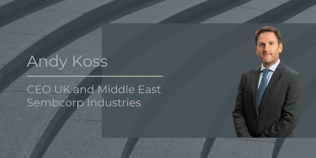 2 Minute Interview with Andy Koss CEO Sembcorp Industries
