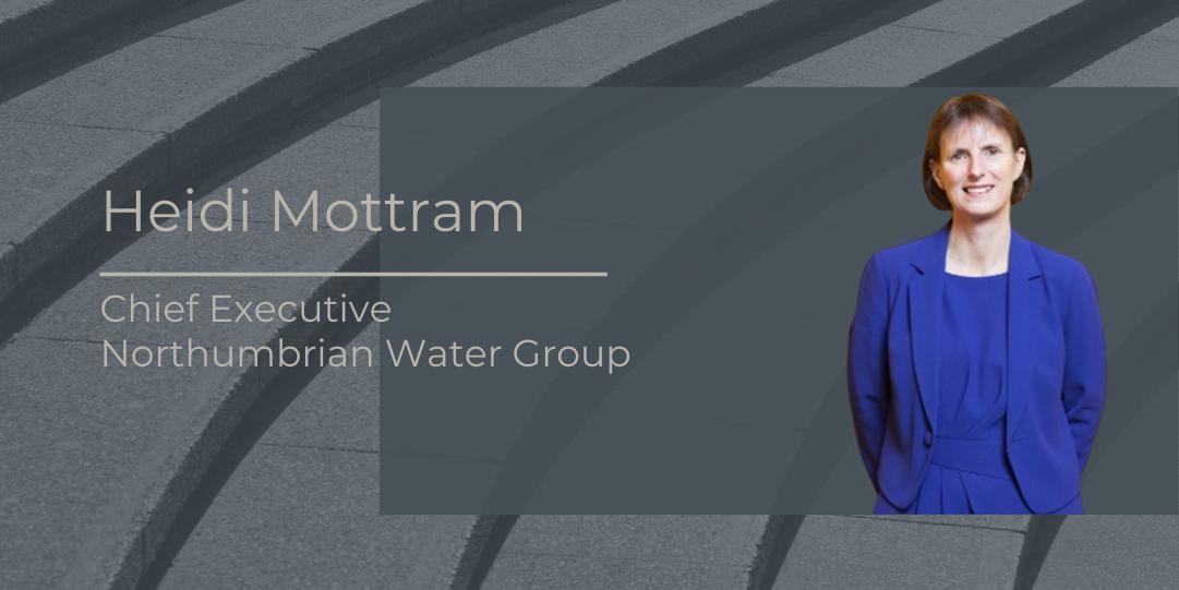 Heidi Mottram, Chief Executive, Northumbrian Water Group